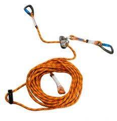 Vertikal-Sicherungsseil mit mitlaufendem Fallstoppgerät