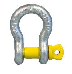 Manille Yellow Pin, lyre avec axe à vis